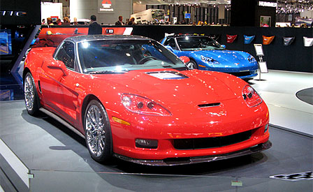 2009 Corvette ZR1 at the Geneva Motor Show