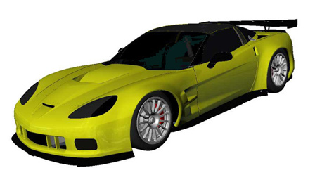 GT2 Corvette C6.R to Wear ZR1 Body