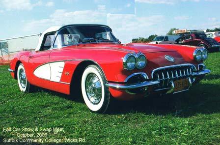 Stolen 1959 Corvette VIN J59S100698