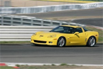 The Z06 Corvette hits the track