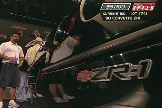 Barrett-Jackson Palm Beach 2010: 1990 Corvette ZR-1