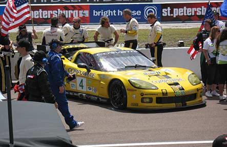 Corvette Racing in St. Petersburg