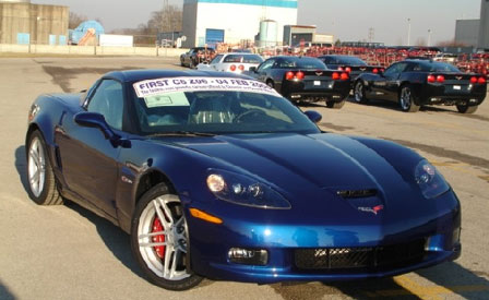 First Built 2006 Corvette Z06