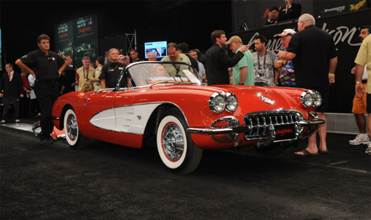 Barrett-Jackson Palm Beach 2010: Corvette Sales Total $2.9 Million