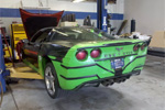The Dragon Vette is now the Supercharged Dragon Vette