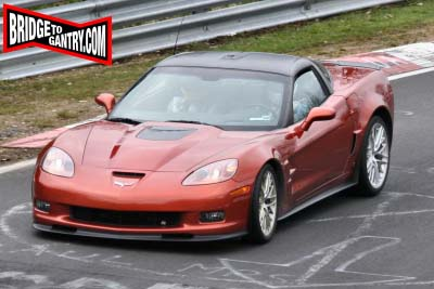 2009 Corvette ZR1 on the Nürburgring