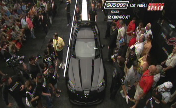 2012 Centennial Edition Corvette Z06 #100 Sells at Barrett-Jackson for $175,000
