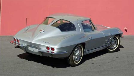 1963 Corvette Z06 Split Window Coupe Tanker
