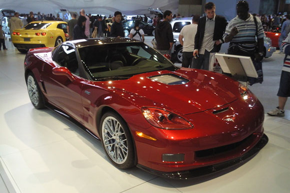 Corvette ZR1 at the New York Auto Show