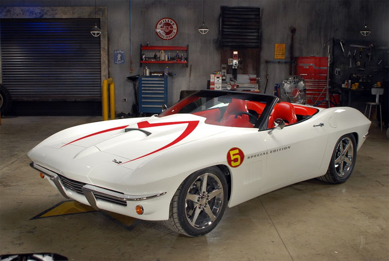 The Speed Racer Mach 5 Corvette Corvetteforum