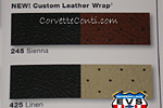Two new custom leather wrap interiors
