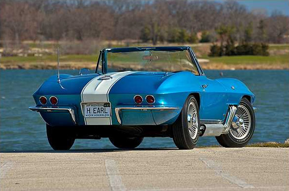 Mecum to Offer Harley Earl's 1963 Custom Corvette at Indy's Spring Classic