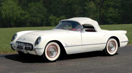 1955 Corvette - Serial #1