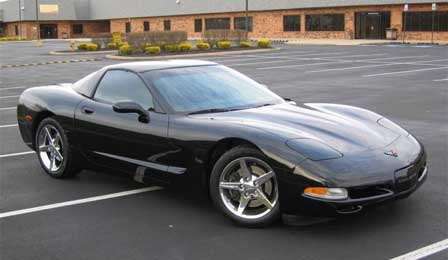 Charlton Heston's 1999 Corvette Coupe