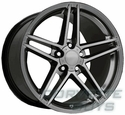 Hyper Silver Corvette Wheels