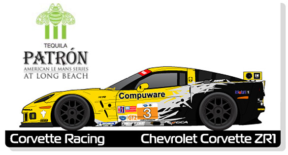 Corvette Racing: Links for the ALMS at Long Beach