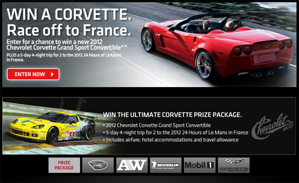 The Race To Win a New Corvet