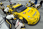 #4 C6.R Corvette in the Pits at Long Beach