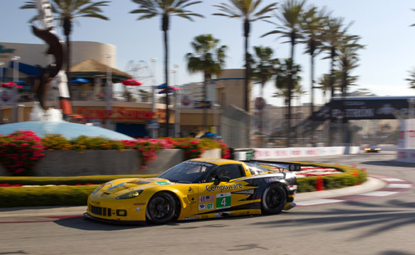 Corvette Racing Qualifies Second and Ninth for Long Beach Street Race