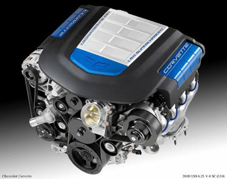 The 6.2L Supercharged LS9 V8
