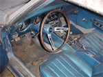 1968 Corvette Barn Car - Interior