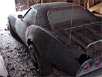 1968 Corvette Barn Car - Optional Hard Top