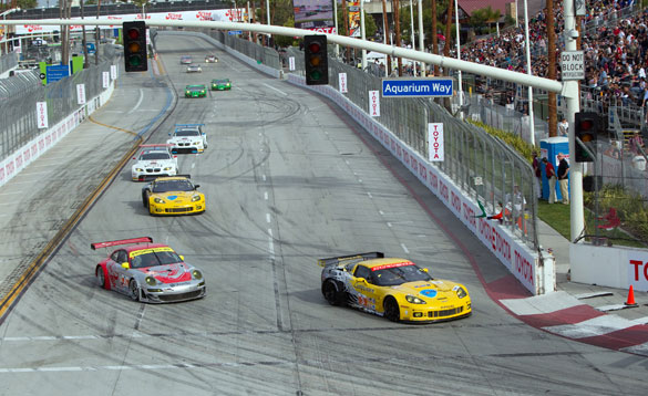 Corvette Racing: Magnussen Takes 2nd Place at ALMS Long Beach