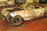 1954 Corvette Pulled from Field in Upstate New York