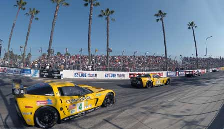 Corvette Racing in Long Beach
