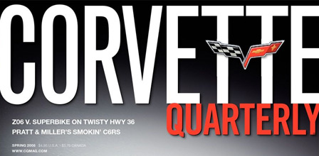 Corvette Quarterly Magazine