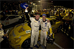 #3 C6.R Drivers Johnny O'Connell and Jan Magnussen