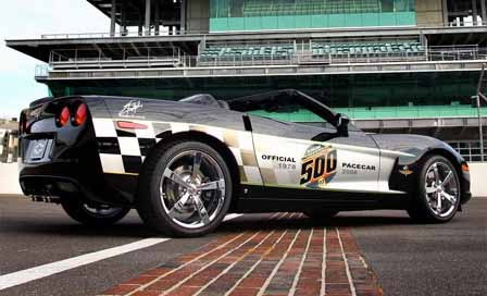 30th Anniversary Indy 500 Corvette Pace Car