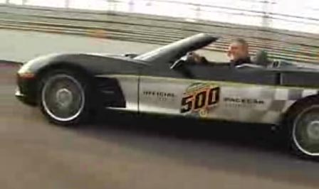 Running the Brickyard in a 2008 Indy 500 Corvette Pace Car