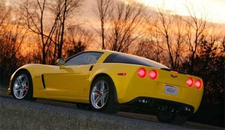 The sun sets on the 2008 Corvette Model Year