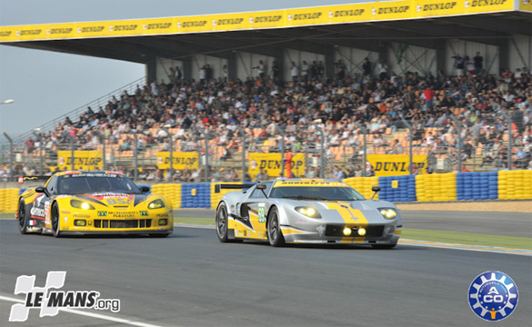 Corvette Racing Completes Successful Test Day in Le Mans