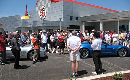 Team Corvette Grand Sport Walk-Around