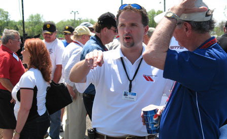 Paul Graham at the Corvette Museum's C5/C6 Bash