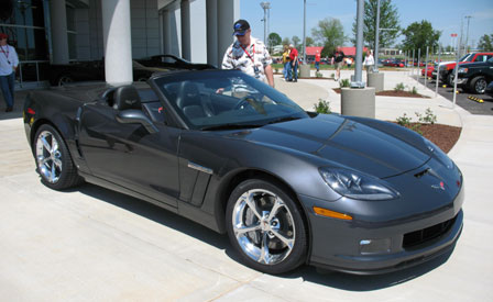 2010 Corvette Grand Sport Convertible Walkaround
