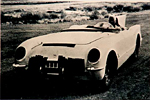 EX87 Corvette Test Mule