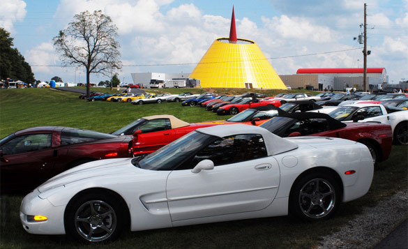 Heading to the National Corvette Museum's C5/C6 Bash