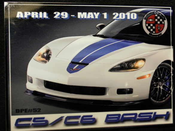 Corvette Museum's C5/C6 Bash Dash Plaque Offers Glimpse of a Special 2011 Corvette