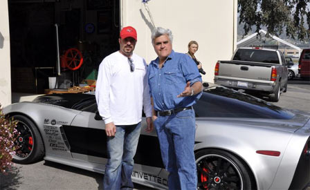 SmokinVette.com Featured on Jay Leno's Garage