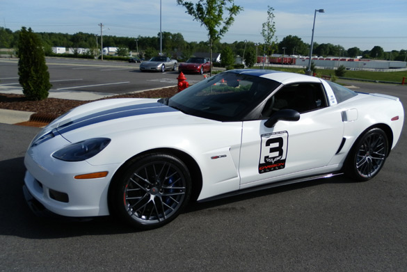 Very First 2011 Corvette Z06 is Tribute to 50th Anniversary of First Le Mans Win