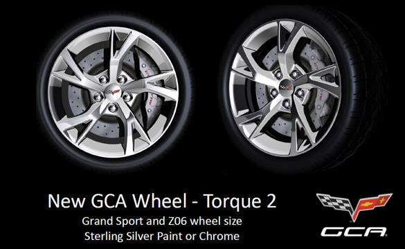 Genuine Corvette Accessories to Offer New Torque 2 Wheel for 2012