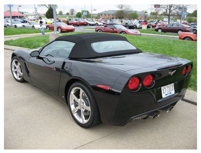 Is this a convertible Corvette Z06
