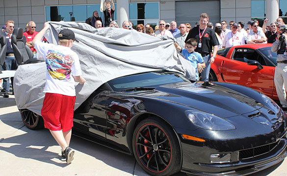 Reveal and Walk Around of the 2012 Centennial Edition Corvettes