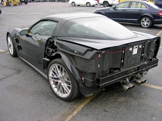 wrecked 2009 corvette zr1 for sale on ebay corvette sales news. Cars Review. Best American Auto & Cars Review