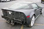 2009 Cyber Gray Corvette ZR1