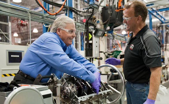 NASCAR's Hendrick Builds His Own