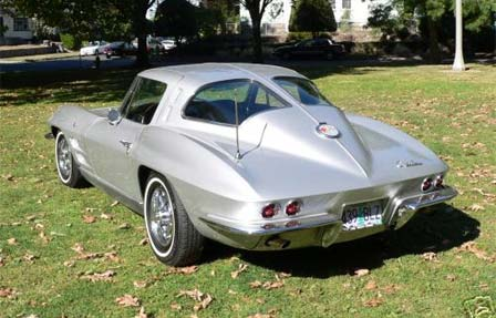 Keith Martin's 1963 Split Window Corvette